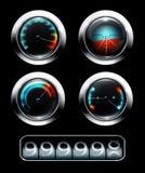 Dashboard vector illustratie