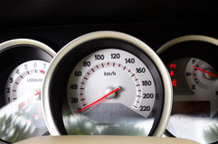 Dashboard Royalty Free Stock Photography