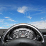 Dashboard Stock Image