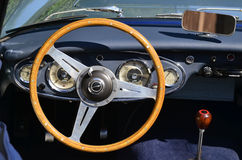 Dashboard of an Austin-Healey 3000 Royalty Free Stock Images
