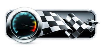 Dashboard baner vector illustratie