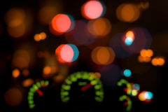 Dashboard in blur Stock Photos