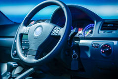 Dashboard bussinesman car Stock Photography