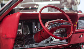 Dashboard of Cadillac Stock Image