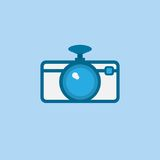 Dashboard camera vector icon Royalty Free Stock Images