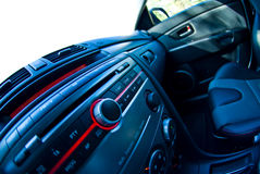 Dashboard Of A Car Stock Photo