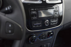 The dashboard of the car. Royalty Free Stock Photos