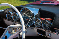Dashboard in a car Royalty Free Stock Photos