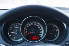 Dashboard of car Stock Photo