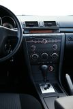 Dashboard of a car closeup Royalty Free Stock Photo