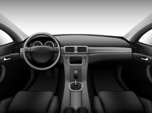 Dashboard - car interior Stock Photos