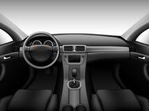 Dashboard - car interior stock illustration