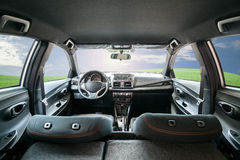 Dashboard, car interior. Stock Images