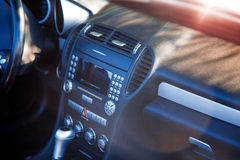 Dashboard of car Royalty Free Stock Images