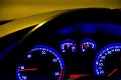 Cluster blue lights Stock Images