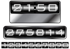 Dashboard counter Royalty Free Stock Images