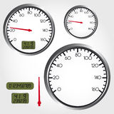 Dashboard dial Royalty Free Stock Photography