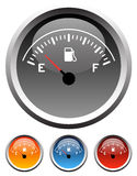 Dashboard Fuel Gauges Royalty Free Stock Images