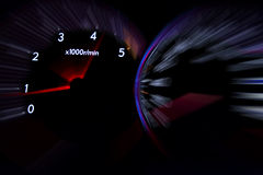 Dashboard gauges Stock Photography