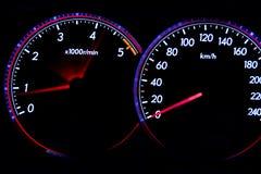 Dashboard gauges Stock Images
