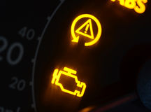 Dashboard icons Stock Photography