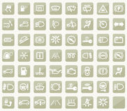 Dashboard icons Royalty Free Stock Image