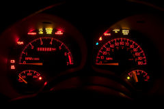Dashboard Instrument Panel Stock Photography