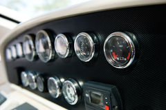 Dashboard instruments Royalty Free Stock Photo