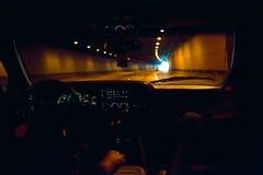 dashboard lights tunnel Στοκ φωτογραφία με δικαίωμα ελεύθερης χρήσης