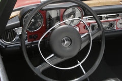 Dashboard of a Mercedes Benz Stock Images