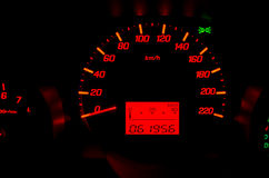 Dashboard Mile Royalty Free Stock Photos