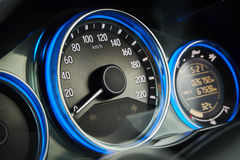 Dashboard of a modern car Royalty Free Stock Photography