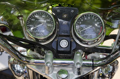 Dashboard motorcycle Stock Photos