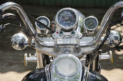 Dashboard motorcycle Royalty Free Stock Images
