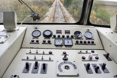Dashboard rail Stock Images