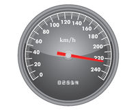 Dashboard speedometer gauge Stock Images