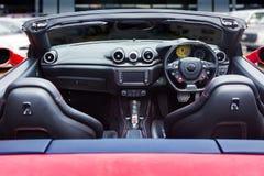 Dashboard of sport car Royalty Free Stock Photos