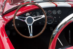 Dashboard of a sports car Royalty Free Stock Photo