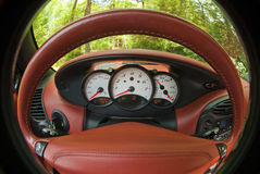 Dashboard view Stock Photography