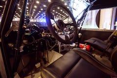 Dashboardpaneel van 4wd offroad extreme auto met fouten Royalty-vrije Stock Foto