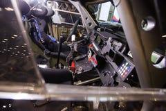 Dashboardpaneel van 4wd verzamelings offroad extreme auto Stock Foto