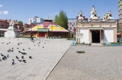 Dashchoilon Khiid monastery Stock Photos