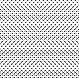 Dashed lines geometric seamless pattern Stock Image