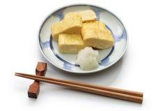 Dashimaki, japanese rolled omelet Stock Images