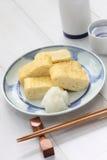 Dashimaki, japanese rolled omelet Stock Image