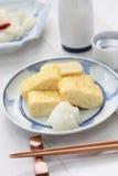 Dashimaki, Japonais a roulé l'omelette Photographie stock libre de droits