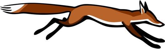 Dashing Fox Stock Image