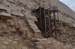 Dashur Pyramds - Ägypten Stockbilder