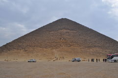 Dashur Pyramds - Egito Foto de Stock Royalty Free