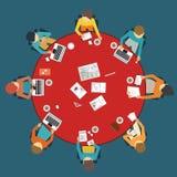 Dasign da reunião de negócios Ilustração do Vetor